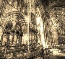 Southwark Cathedral London Vintage by DavidHornchurch