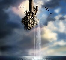 Surreal Castle In The Air by FantasyDesign