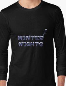 Winter nights Long Sleeve T-Shirt