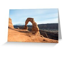 Delicate Arch – Arches National Park, Utah Greeting Card