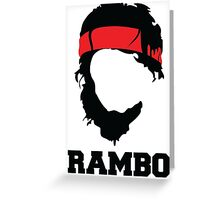 RAMBO Design Greeting Card