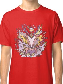 Abstract deer Classic T-Shirt