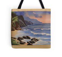 Kauai Cliffs Tote Bag