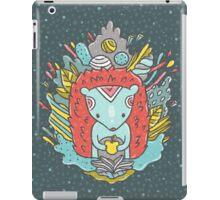 Abstract hedgehog iPad Case/Skin