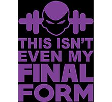 This Isn't Even My Final Form - Tshirts & Hoodies Photographic Print