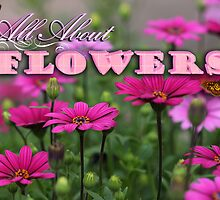 All About Flowers group LOGO by Karen Scrimes
