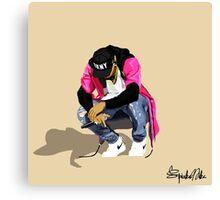 Chris Brown Artwork Canvas Print