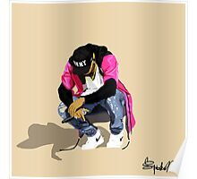 Chris Brown Artwork Poster