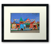 Wacky Shack Framed Print