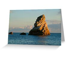 Isle of Perbeck - Mupe Rock Greeting Card