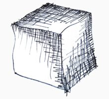Freehand cube sketch  Kids Clothes