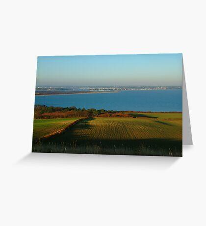 Studland Bay Greeting Card