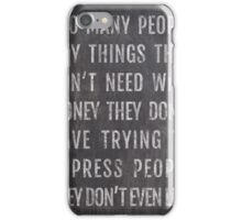 People iPhone Case/Skin