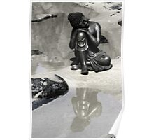 tranquil buddha Poster