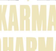 Karma Dharma Zen Sticker