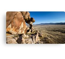 Small arch in the west desert of Utah Canvas Print
