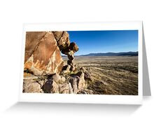 Small arch in the west desert of Utah Greeting Card