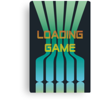 Loading Game Canvas Print