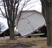 tornado aftermath (barn) by Dave & Trena Puckett