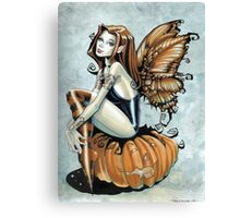 Pumpkin Fairy Canvas Print