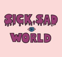 Sick, Sad World (Plain pink) One Piece - Short Sleeve