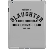 Slaughter High School Shirt iPad Case/Skin