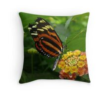 a lesson in pollenation Throw Pillow