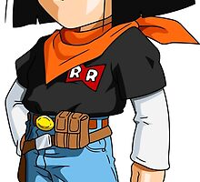 Android 17 Chibi by DOPEFLVR