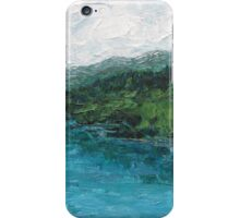 Lake Fuschl, Austria iPhone Case/Skin