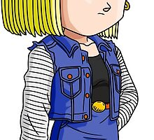 Android 18 Chibi by DOPEFLVR