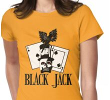BLACK JACK Womens Fitted T-Shirt