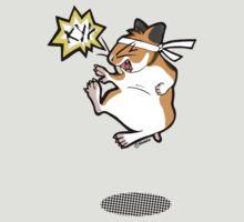 Karate hamster by Kitzekatze