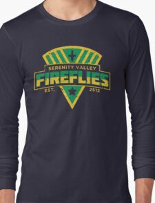 Serenity Valley Fireflies Long Sleeve T-Shirt