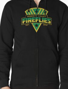 Serenity Valley Fireflies Zipped Hoodie