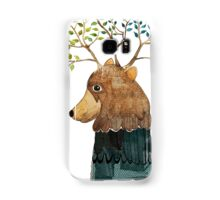Bear with treetop Samsung Galaxy Case/Skin
