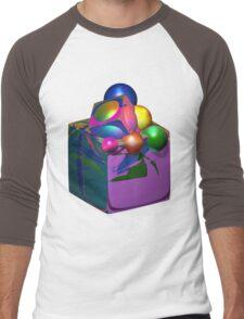 Thinking Outside Of The Box Men's Baseball ¾ T-Shirt
