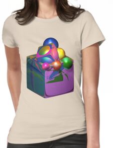 Thinking Outside Of The Box Womens Fitted T-Shirt