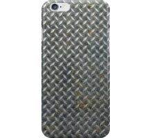 Grunge Metal Grate iPhone Case/Skin