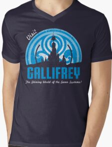 Visit Gallifrey Mens V-Neck T-Shirt