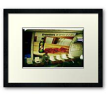 00185 Framed Print
