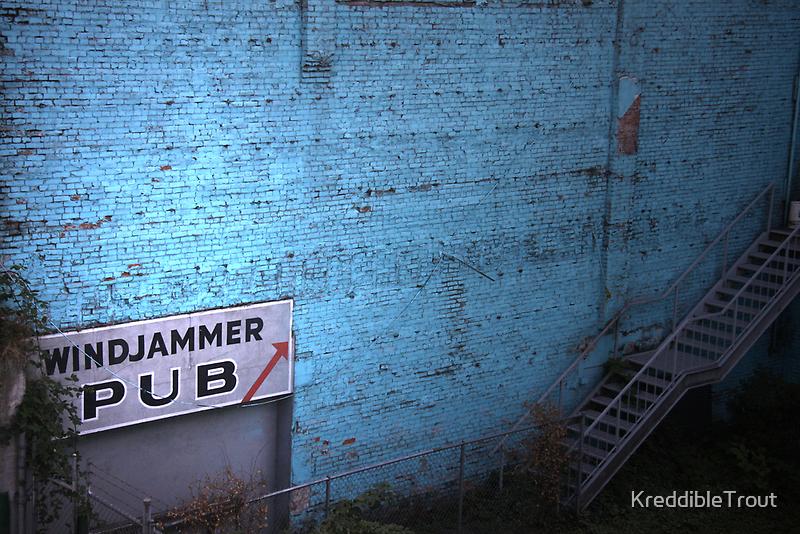 windjammer pub by KreddibleTrout