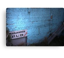windjammer pub Canvas Print