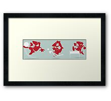 Sport Situations Framed Print