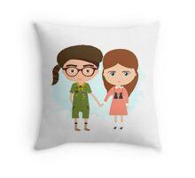 Moonrise Kingdom Throw Pillow
