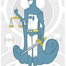 Lady Justice by bodiehartley