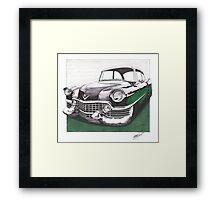 1954 Cadillac  Framed Print