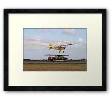 Truck Landing Framed Print