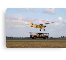 Truck Landing Canvas Print