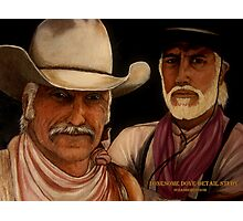 Lonesome Dove- Detail Study Photographic Print