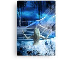 Eden By Moonlight Canvas Print